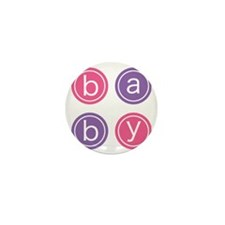 Baby Circles Mini Button