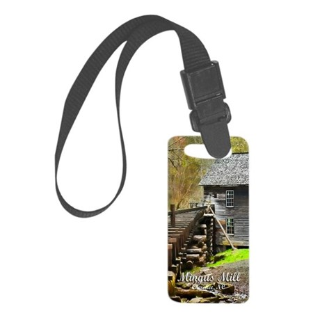 MingusMill_Topaz_clearCase Small Luggage Tag