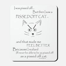 PissyKitty Mousepad