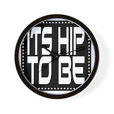 hiptobesquare-2000x2000 Wall Clock