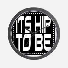 hiptobesquare-2000x2000 Wall Clock