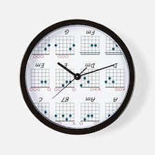 Guitar Cheat Shirt Wall Clock