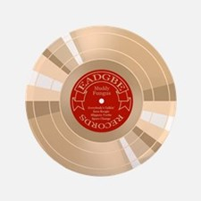 """gold-record-CRD 3.5"""" Button"""