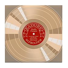 gold-record-CRD Tile Coaster