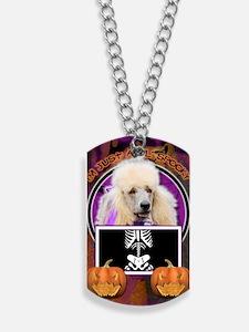LilSpookyPoodleApricot Dog Tags