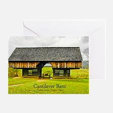 CadesCoveBarn_laptop Greeting Card
