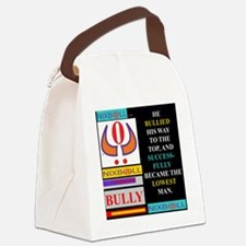 LOWEST MAN BLK Canvas Lunch Bag