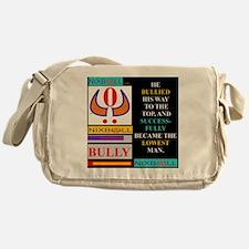 LOWEST MAN BLK Messenger Bag