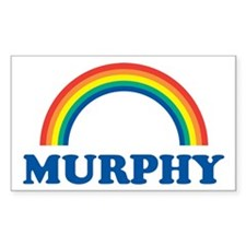 MURPHY (rainbow) Rectangle Decal