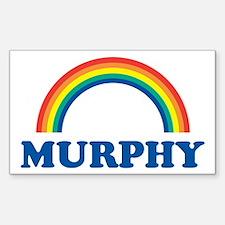 MURPHY (rainbow) Rectangle Decal