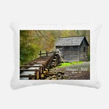 MingusMill_Topaz_laptop Rectangular Canvas Pillow
