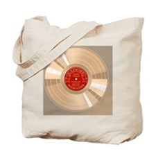 gold-record-BUT Tote Bag