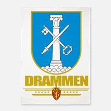 Drammen (Flag 10) 5'x7'Area Rug