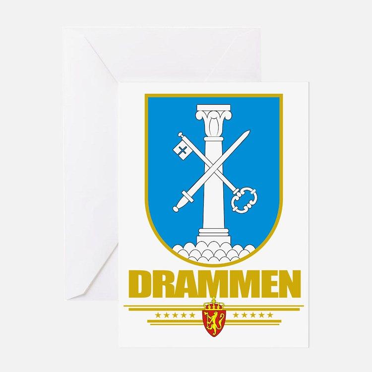 Drammen (Flag 10) Greeting Card