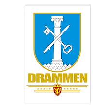 Drammen (Flag 10) Postcards (Package of 8)
