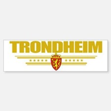 Trondheim (Flag 10) pocket Bumper Bumper Sticker