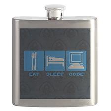 Eat-pillow Flask