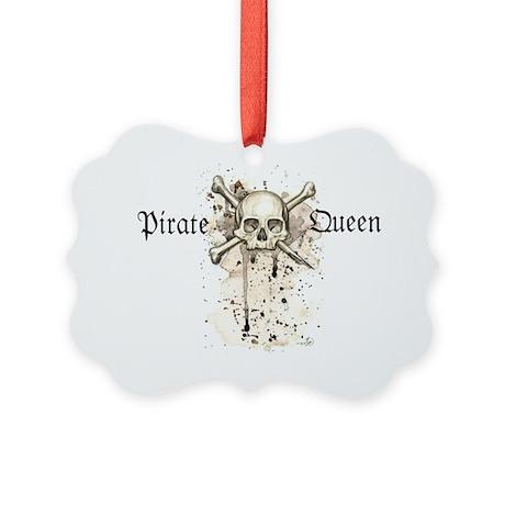 Pirate Queen Picture Ornament