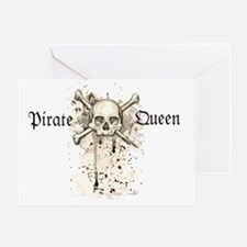 Pirate Queen Greeting Card
