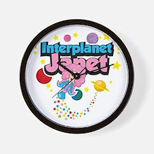 Interplanet-Janet Wall Clock
