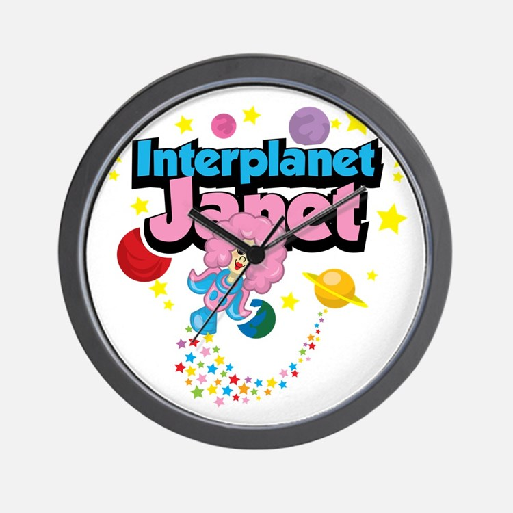 Interplanet-Janet Wall Clock