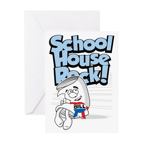 School-House-Rocks-Bill Greeting Card