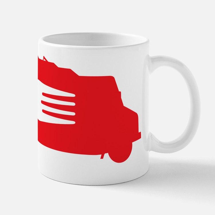 FoodTruck_Side_Fork_Red_Top Mug
