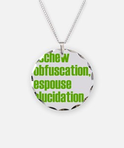 Eschew-shirt2 Necklace