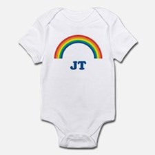 JT (rainbow) Infant Bodysuit