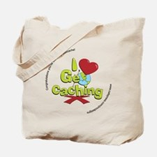 geocaching BUTTON promo Tote Bag