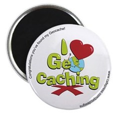 geocaching BUTTON promo Magnet