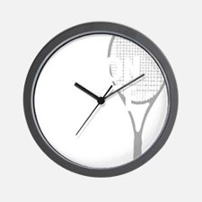 tennisWeapon1 Wall Clock
