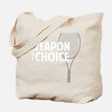 tennisWeapon1 Tote Bag