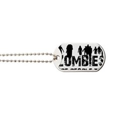 zombiesPeople1 Dog Tags