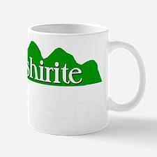 BERKSHIRITE BORN IN MA LOCKED WHITE Mug