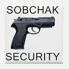 sobchak_10x10 Tile Coaster
