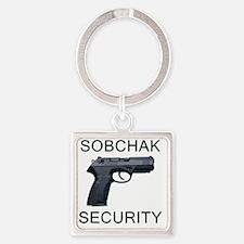 sobchak_10x10 Square Keychain