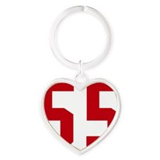 55 Heart Keychain