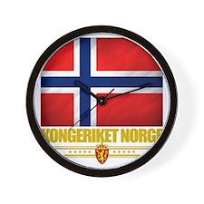 Norway (Flag 10) Wall Clock