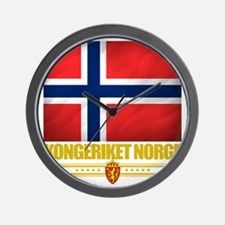 Norway (Flag 10) Wall Clock