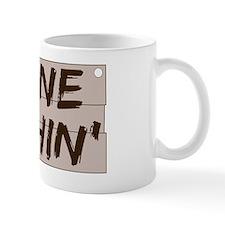 gone fishin_dark Mug