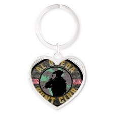 infidel club Heart Keychain