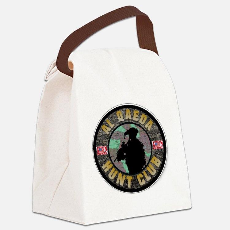 infidel club Canvas Lunch Bag