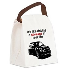 R56 Like Driving Go Kart Canvas Lunch Bag