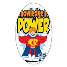 Knowledge-Is-Power Decal