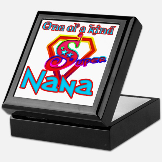 Super Nana Keepsake Box