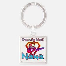 Super Nana Square Keychain