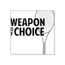 """tennisWeapon2 Square Sticker 3"""" x 3"""""""