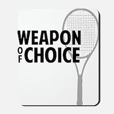 tennisWeapon2 Mousepad