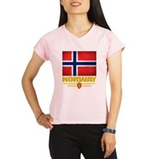 Norway2 (Flag 10) Performance Dry T-Shirt